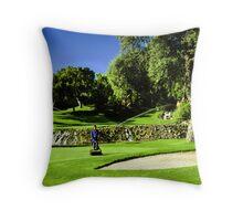 Valderrama Golf Club Throw Pillow