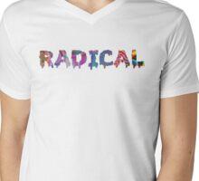 RAD Mens V-Neck T-Shirt