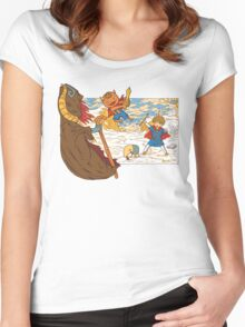 The Other World  Women's Fitted Scoop T-Shirt