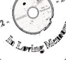 RIP Technics Sticker