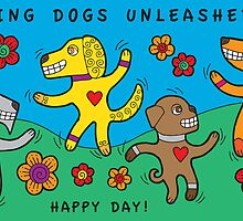 Dancing Dogs Unleashed by DarDuncan