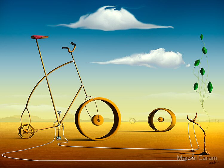 A Bicicleta. by Marcel Caram
