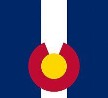 Smartphone Case - State Flag of Colorado  - Vertical by Mark Podger