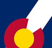 Smartphone Case - State Flag of Colorado  - Abstract II by Mark Podger