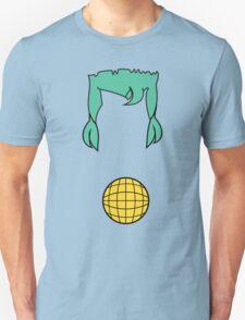 Cap. Planet Hair & Logo Minimalism  T-Shirt