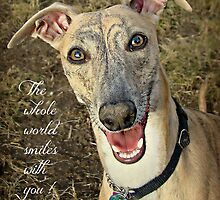 """""""When Your Smiling"""" by Gail Jones"""