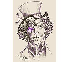 Mad Hatter (purple) Photographic Print