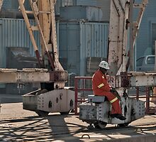 Dry-dock worker by awefaul