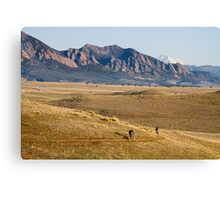 Colorado Mountain Biking Fun Canvas Print