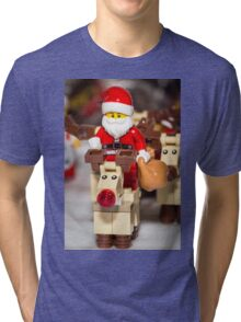 Lets Go Rudolph Tri-blend T-Shirt