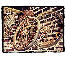 """""""Elvis Presley's Bicycles"""" Photographic Print"""
