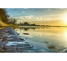 An April morning on the Estuary Photographic Print