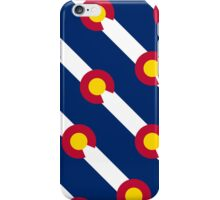 Smartphone Case - State Flag of Colorado  - Diagonal iPhone Case/Skin
