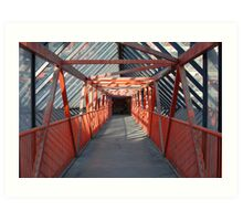 Walkway, Swindon Art Print