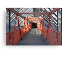 Walkway, Swindon Metal Print