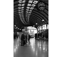 Train Station, Newcastle Photographic Print