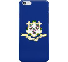 Smartphone Case - State Flag of Connecticut  - Horizontal iPhone Case/Skin
