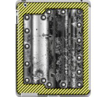 Metal Rivet Warning Tape Design iPad Case/Skin