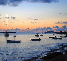 Sunset in Paradise by emilyduwan