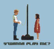 Y'Wanna Play Me? Kids Tee