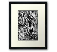 Love in the Forest (Oh as Your Laptop Broken or the Sky Fallen in)     en . Framed Print