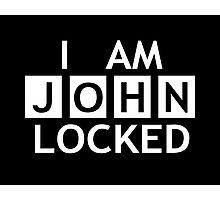 Johnlocked Photographic Print