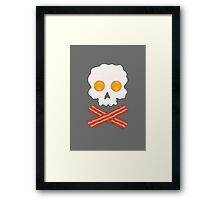 Ahoy, Me Heartie Breakfast! Framed Print