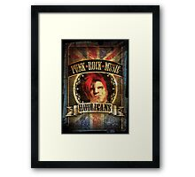 Punk Rock Music Framed Print