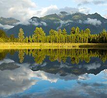 lake matheson by milena boeva