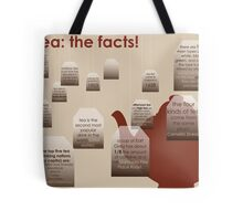 tea: the facts! Tote Bag