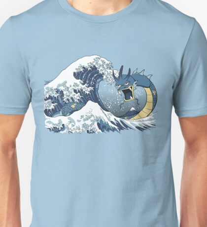 The Great Wave off Mt. Moon Unisex T-Shirt