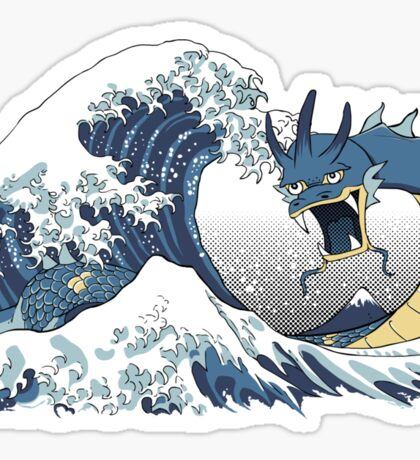 The Great Wave off Mt. Moon Sticker
