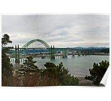 Bridge, Newport Oregon Poster