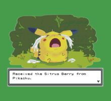 Pikachu Sitrus Berry Cry by chaunce