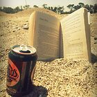 Beach, Beer, Bukowski by Scott Mason