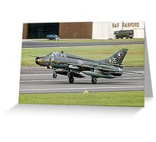 Sukhoi Su-22UM-3K 7310/25/NA-2A Fitter G Greeting Card