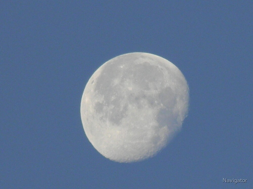 Early Morning Moon - View Larger by Navigator