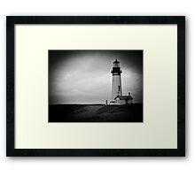 Yaquina Head Light House 2 Framed Print