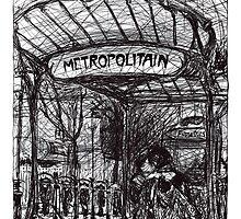 Montmartre 4 by Tatiana Ivchenkova