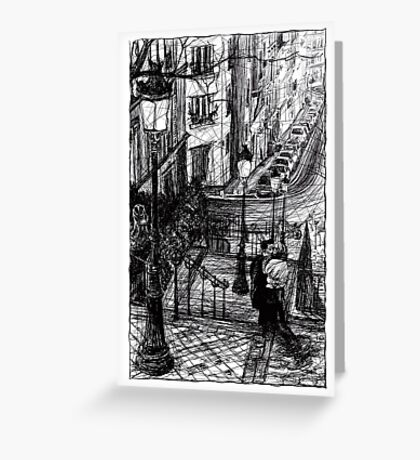 Montmartre 8 Greeting Card