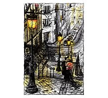 Montmartre 8 in colour Photographic Print