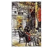 Montmartre 9 in colour Photographic Print