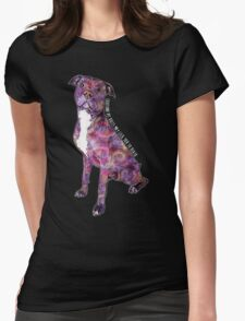 Pit Bulls May Lick You To Death Womens Fitted T-Shirt