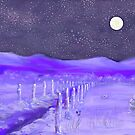 Cold Winter Night  by EllieTaylorArt