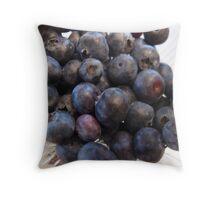 Blueberry Hill Throw Pillow