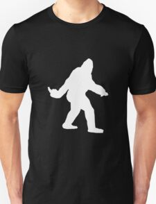 Bigfoot Flips The Bird T-Shirt