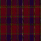 02294 S Uist  Nameless Tartan Fabric Print Iphone Case by Detnecs2013