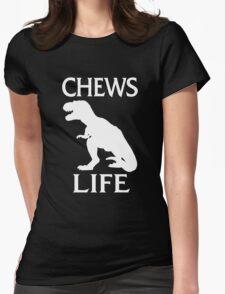 Chews Life Womens Fitted T-Shirt