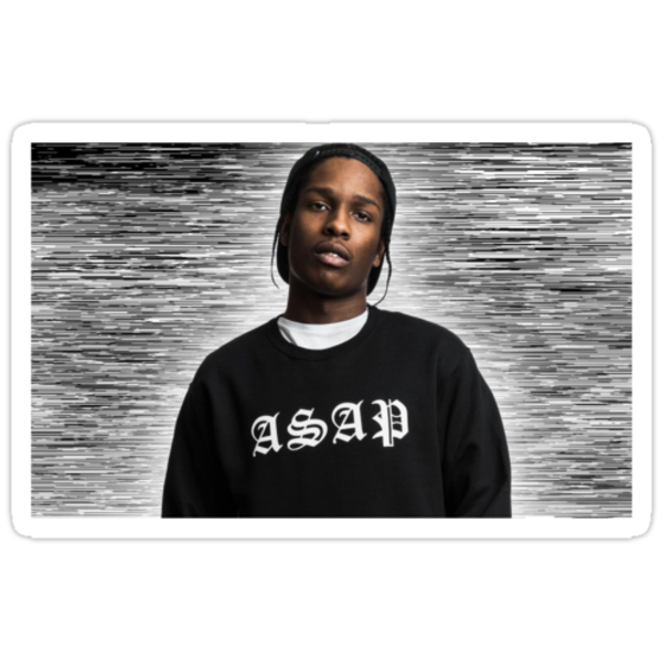 A$AP Rocky by Rasheda Bailey