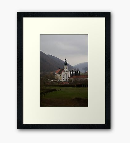 Small Town in Germany Framed Print